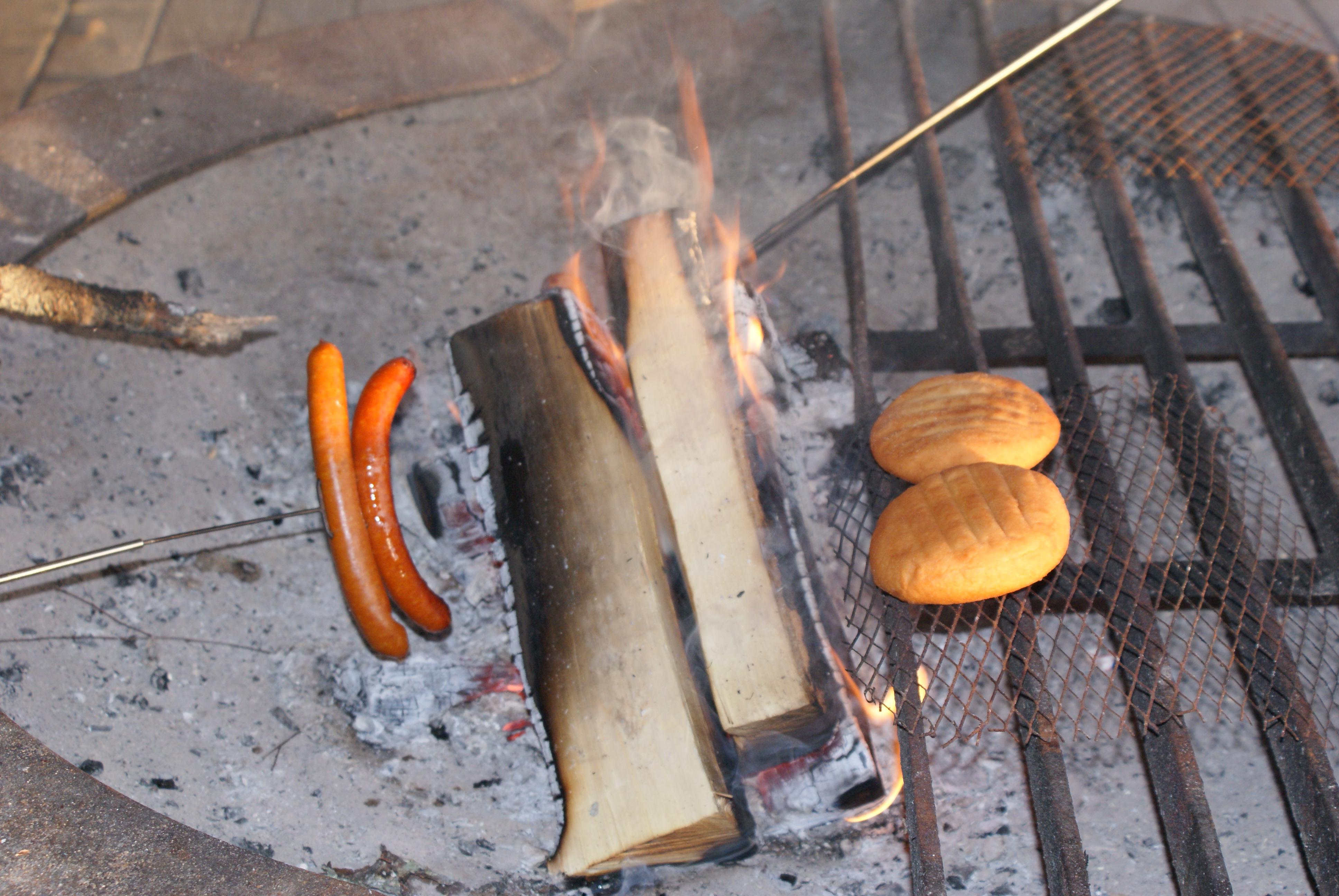 grillikatoksessa voi paistaa omia eväitä